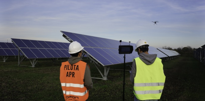 Droni: Impianti Fotovoltaici